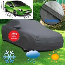 Telo copriauto felpato specifico per Fiat Punto 2012 250 grammi a metro quadrato
