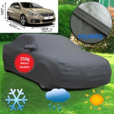 Telo copriauto felpato Specifico per Peugeot 308 250 grammi a metro quadrato