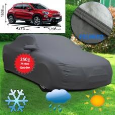 Telo copriauto felpato Specifico per Fiat 500X 250 grammi a metro quadrato