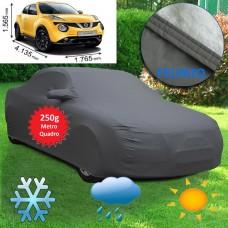 Telo copriauto felpato specifico per Nissan Juke 2014 250 grammi a metro quadrato