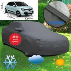 Telo copriauto felpato Specifico per Renault Twingo del 2015 250 grammi a metro quadrato-