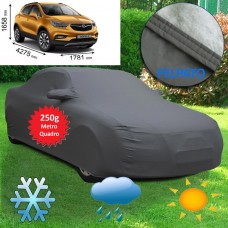 Telo copriauto felpato specifico per Opel Mokka X del 2016 250 grammi a metro quadrato